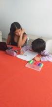 Moni and Lluvia