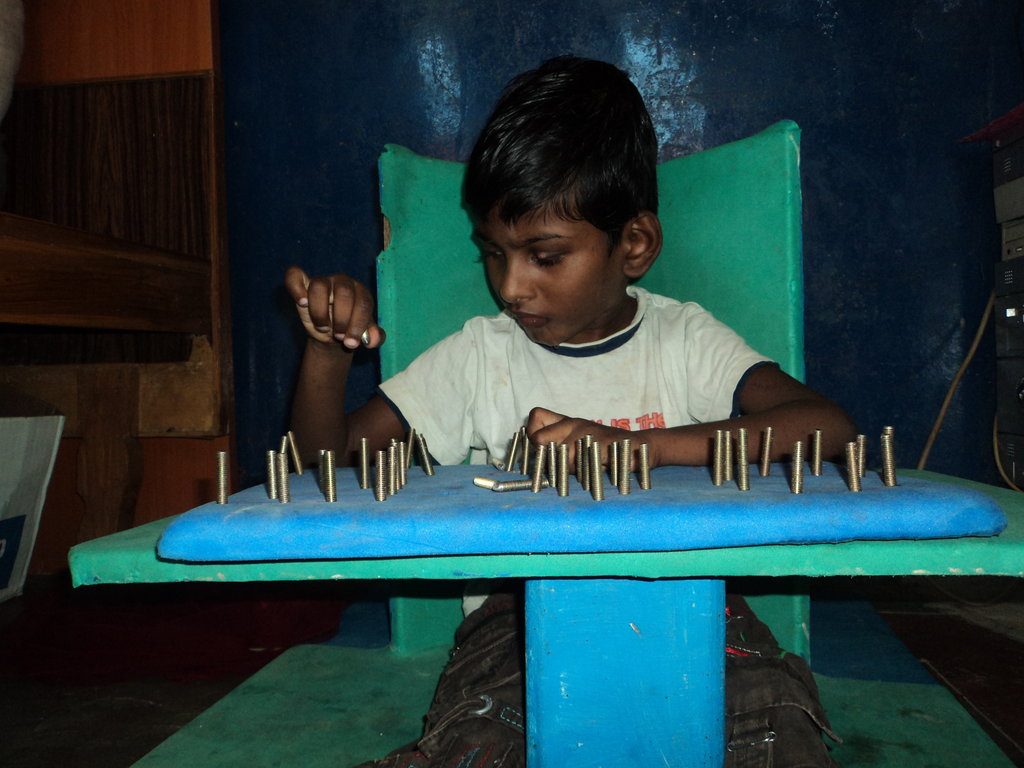 Special Chairs For 100 Children With Disabilities