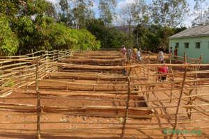 The new tree nursery in Faidanana