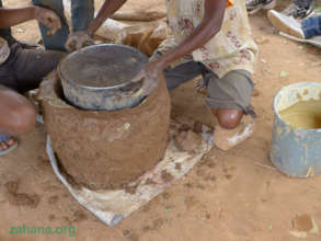 Building and impoved cookstove for the school