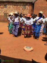 Dancing to celebrate International Women's Day