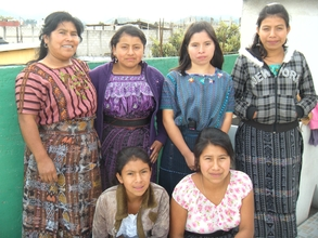 Solola  Group with Juana Tuj, Project Leader