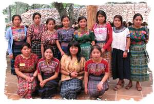 Chimaltenango Group at Meeting with the Visitors