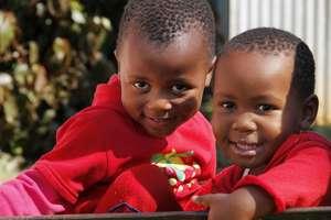 Learners at Siyabonga