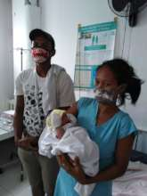 Checking out from Mercy In Action's birth center