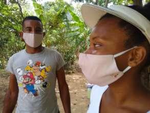 Providing masks for everyone