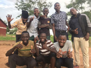 Sospeter and the Lads - his Form 3 Classmates