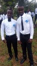 Dibeit and Tumsifu at Graduation