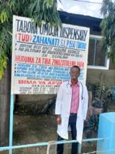 Tumsifu at work in Tabora