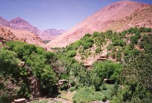 Amsouzerte village, project site - High Atlas