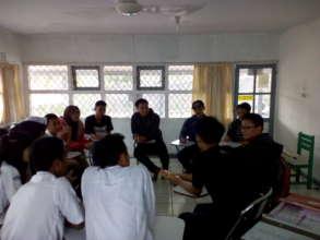 Mr.Yudi's class