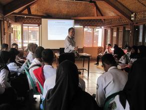 """VTC Workshop:""""Job's Interview"""",  Speaker Mr. Kadek"""