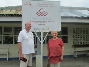 Mr. Hall with Ibu Olvia_YUM Chairperson in VTC