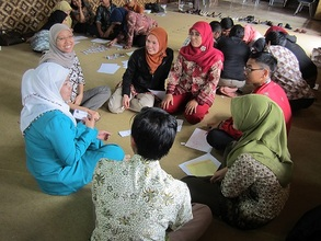 Group Games at English Workshop for Teacher