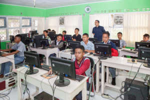 The students at Computer Class the Basic 2