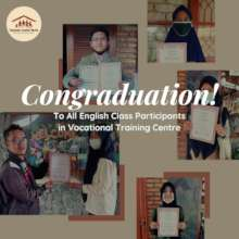 Congratulation on your graduation!
