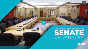 WATCH: IN COMMITTEE FROM THE SENATE OF CANADA