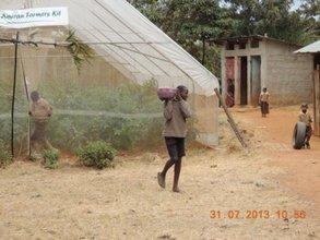 Greenhouse Harvest-Students