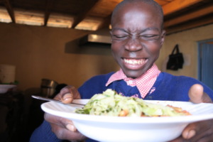 Lunch time is fun time at Fountain of Hope.