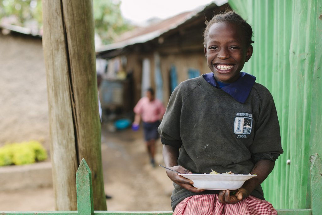 Feed 100 Children Living in Kibera Slum for a Year