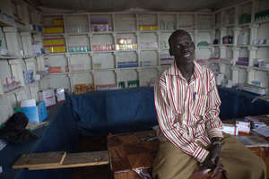 Peter Madut grew his business with a microloan.