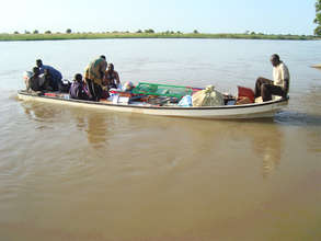 River boats help businesses reach villages.