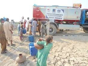 Water Tankering for Flood Affected People