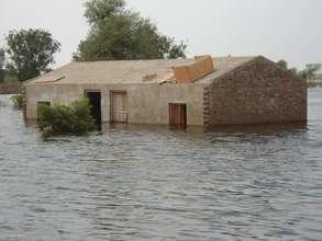 JAGGARTA School under flood water