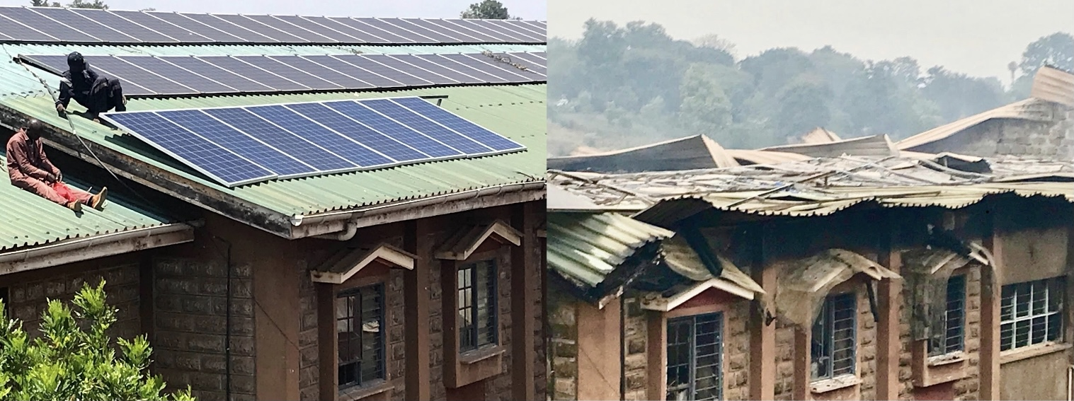 Image for Help us replace the Solar Panels lost in the devastating fire